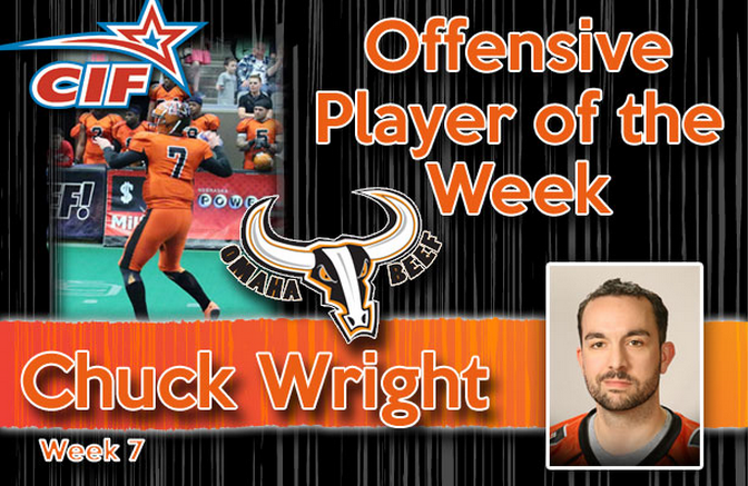 Beef QB Chuck Wright Named Offensive Player Of The Week