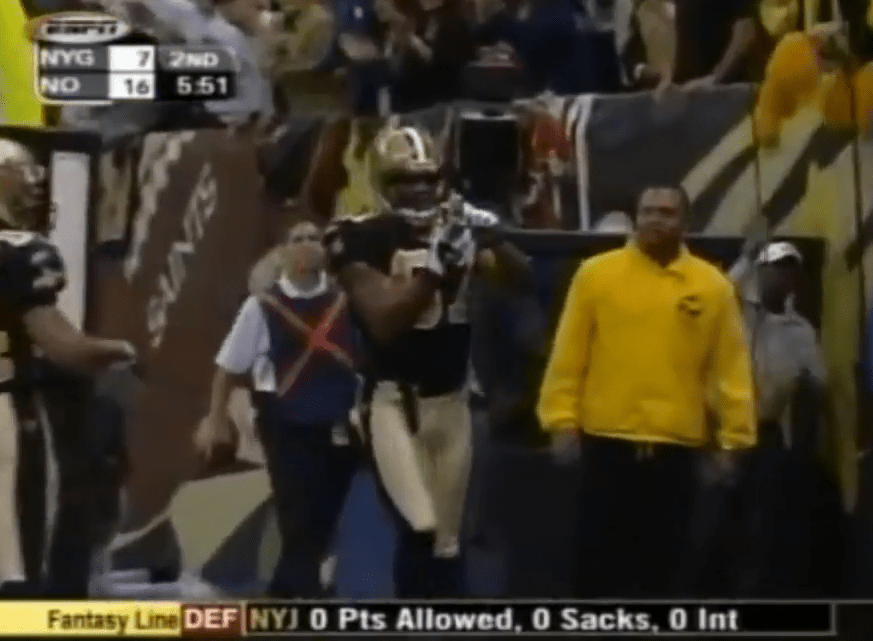 Joe Horn Cell Phone Touchdown Celebration