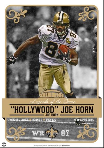 Joe Horn Saints - The Ultimate American Dream Story