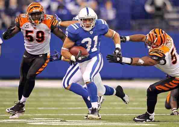 2009 NFL Draft Interview with Indianapolis Colts Running Back Donald Brown