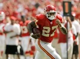 Larry Johnson Chiefs Fantasy Football