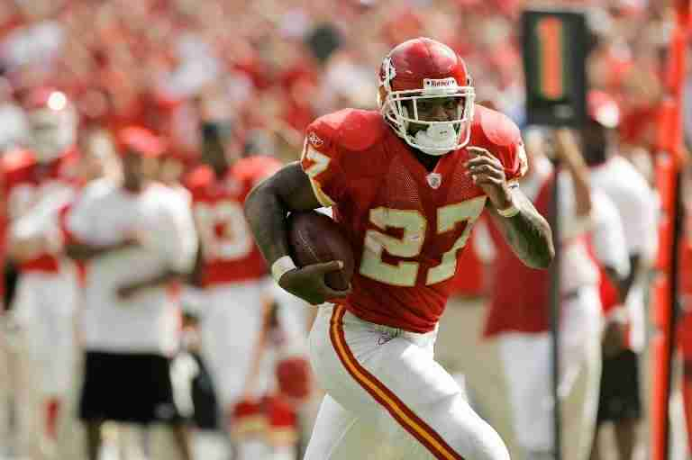Larry Johnson Chiefs Fantasy Football