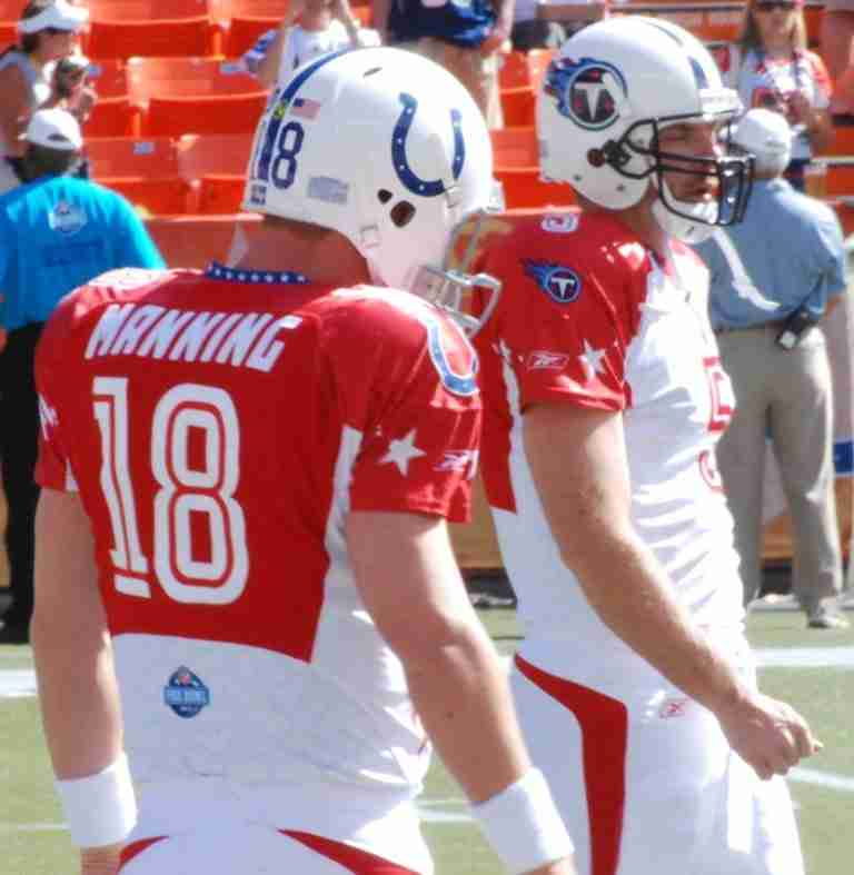 Kerry Collins At The Pro Bowl