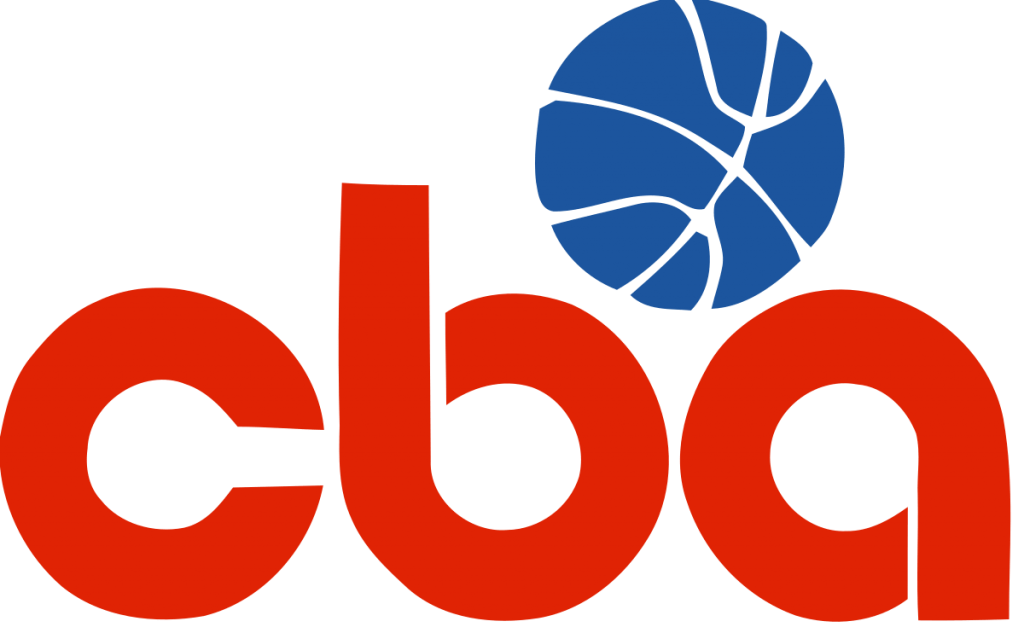The Old Continental Basketball Association (CBA) Logo.
