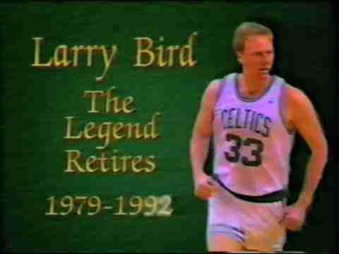 Larry Bird Retirement Video
