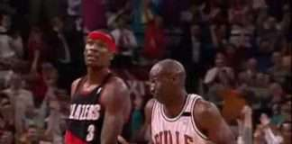 Michael Jordan Shrug Game