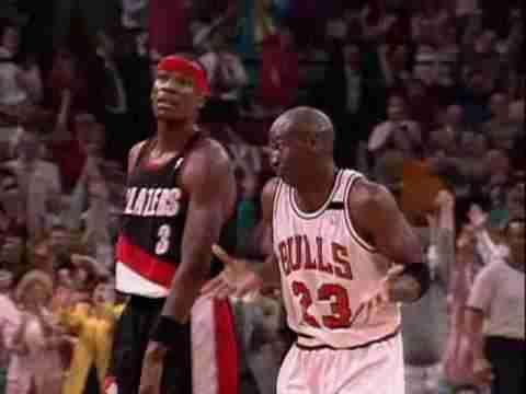 Michael Jordan Shrug Game