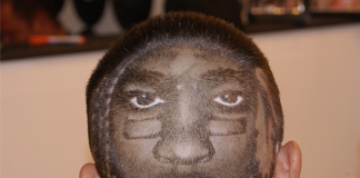 RG3 Haircut Is Carved Into The Back Of His Head