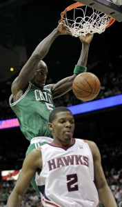 Kevin Garnett, Joe Johnson