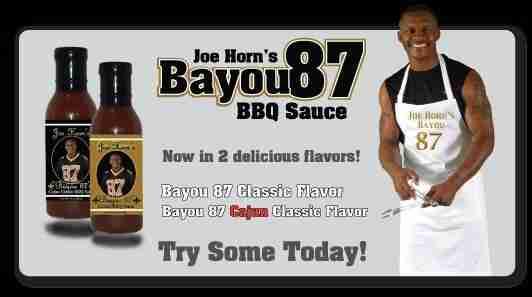 Joe Horn's Bayou 87 BBQ Sauce Case Study