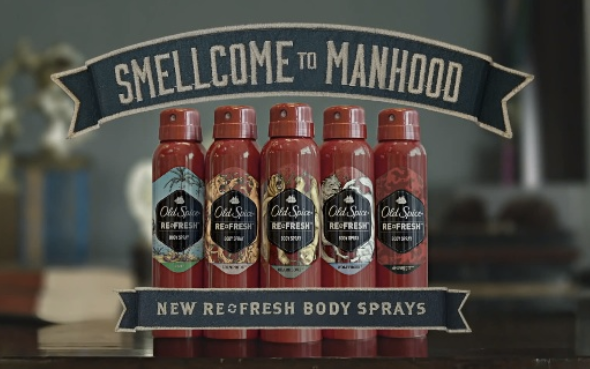 Product Review: Old Spice Re-Fresh Body Spray
