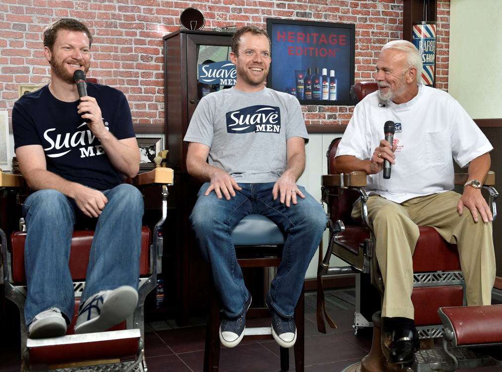 Suave Men Will Keep You Groomed To Perfection, Like Paul Eide And Dale Earnhardt Jr.