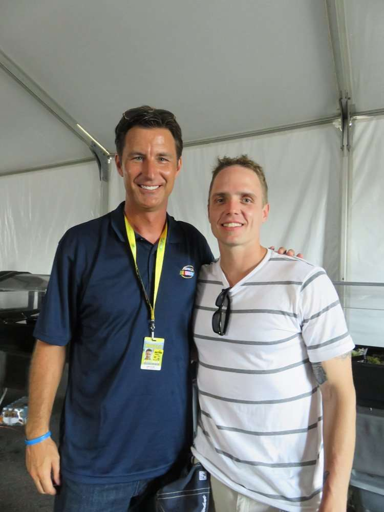 Rick Allen Is The Smoothest Guy In The Room...Next To Paul Eide.