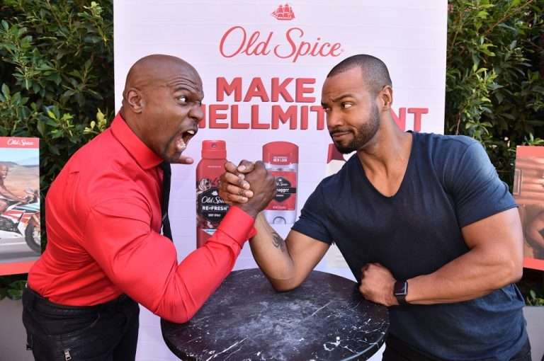 """Old Spice Guys Terry Crews & Isaiah Mustafa On Fear of """"Smellmitment"""""""