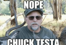 Chuck Testa Meme Keystone Light
