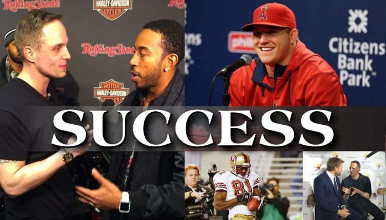 SUCCESS: What I Learned From Ludacris, Mike Trout, Terrell Owens, and Curtis Stone