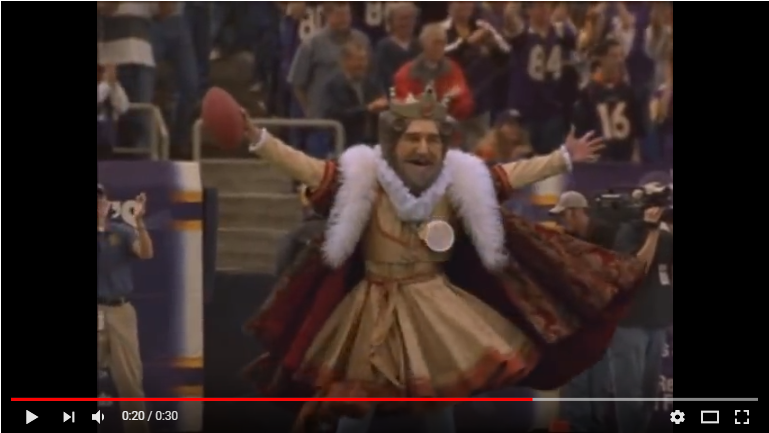 The Burger King In The NFL Commercials Were Great