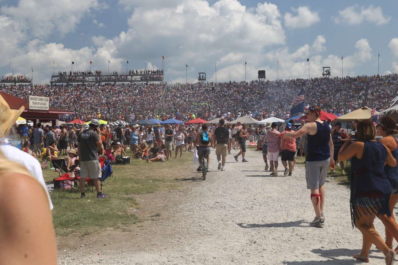The Infield at the Indy 500