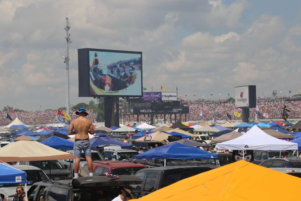 Indy 500 Tent City Infield