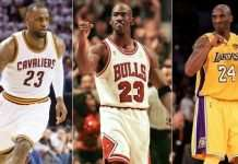 Best NBA Players Ever: Michael Jordan #1, Who Is #2?