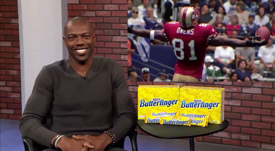 In this interview with the latest member of the Pro Football Hall of Fame  Terrell Owens c9a56bc6c