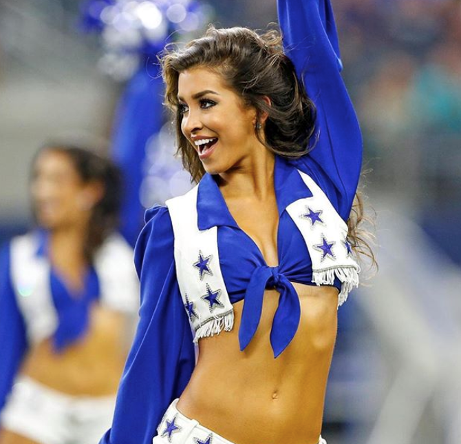 Hottest NFL Cheerleaders - Lacey Of The Cowboys
