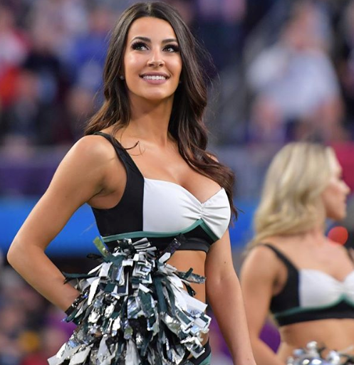 Hottest NFL Cheerleaders - Vanessa Of The Philadelphia Eagles