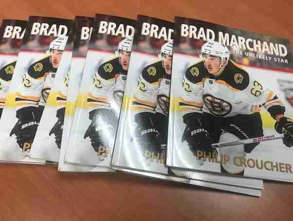 BRAD MARCHAND Book: The Unlikely Star Cover