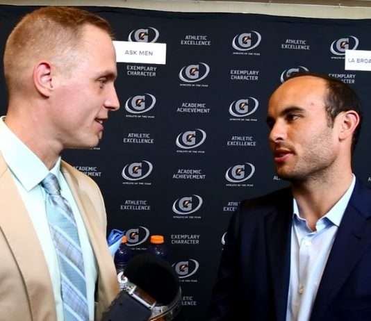 Landon Donovan And Paul Eide Talking About Soccer In Los Angeles