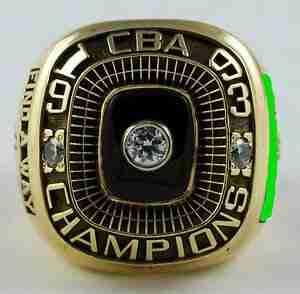 1993 Omaha Racers Championship Ring