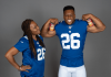 Saquon Barkley And His Mom