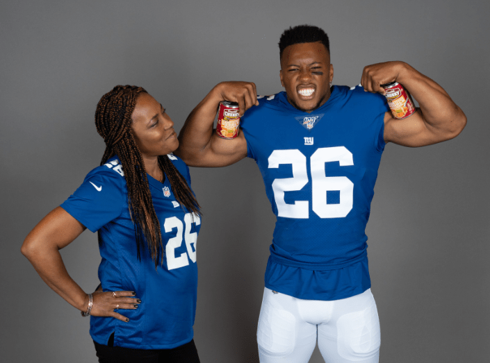 Saquon Barkley Is A Legit Soup-er Star Thanks To Campbell's