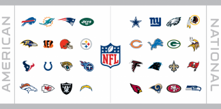 NFL Standings And NFL Team Logos