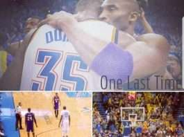Kobe Bryant Last Road Game Collage