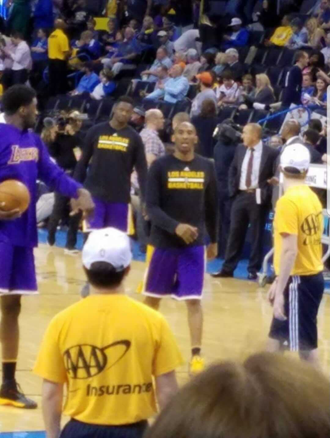 Kobe Bryant's Last NBA Road Game - In OKC