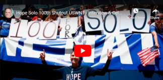 Hope Solo's 100th Shutout For USWNT
