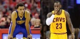 Steph Curry vs LeBron James image