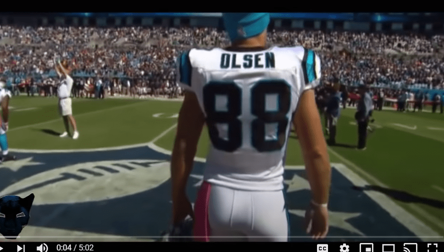 Greg Olsen Panthers