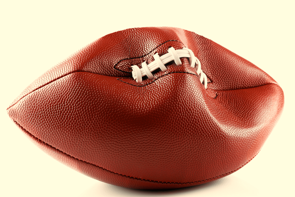 Deflated Football Showing A Metaphor For NFL Failures