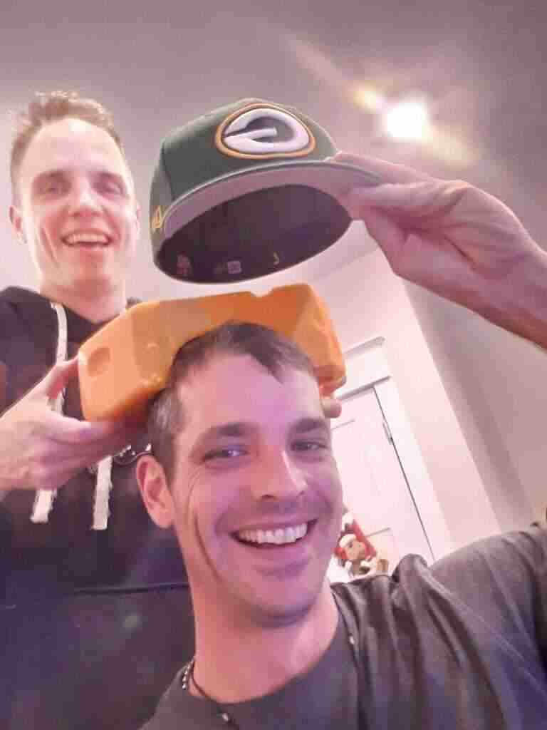 Cheesehead From Borden – 9 LBS Of PLEASURE And Fun
