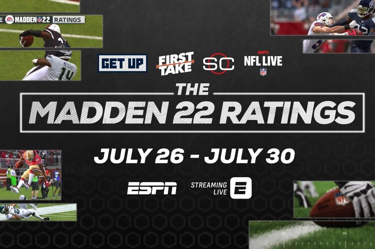 Madden 22 Ratings Graphic