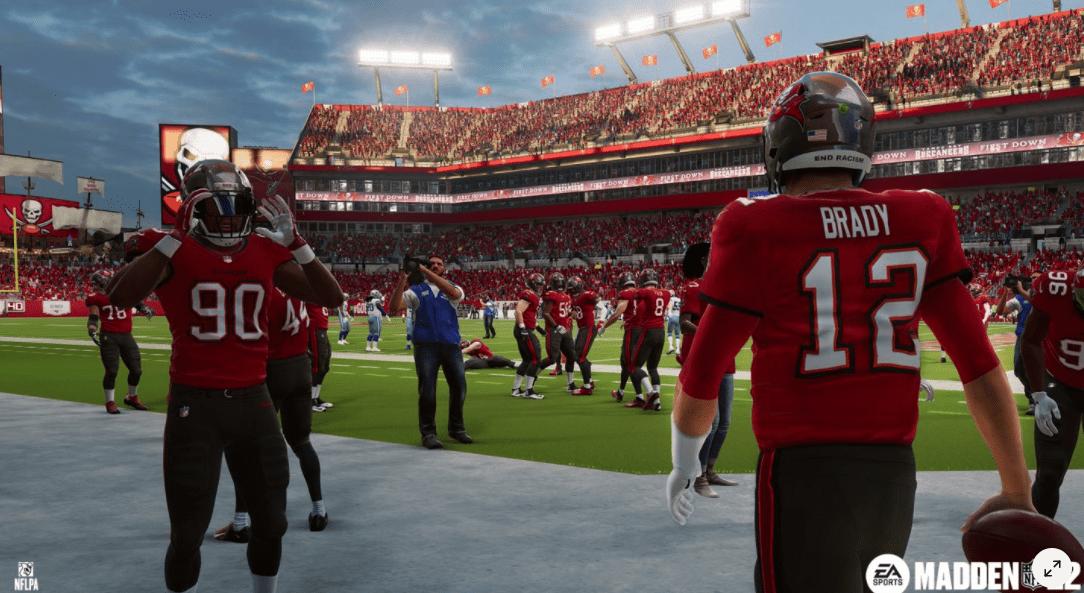 Madden NFL 22 Screenshot - Tom Brady