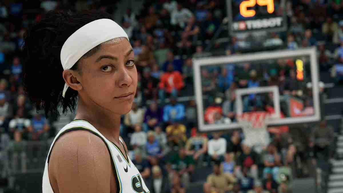 NBA 2k22 Screenshot of Candace