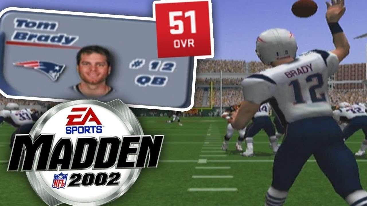 Tom Brady Madden 2002 Graphic