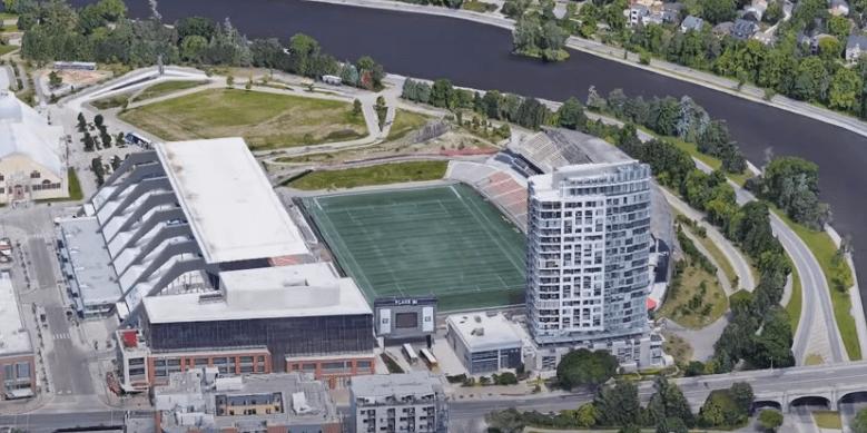 Ottawa RedBlacks Stadium TD Place