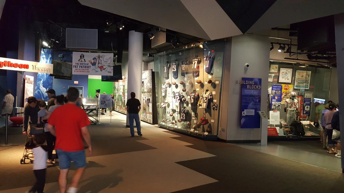The Hall at Patriot Place Is The Place To Be - I-80 Sports Blog